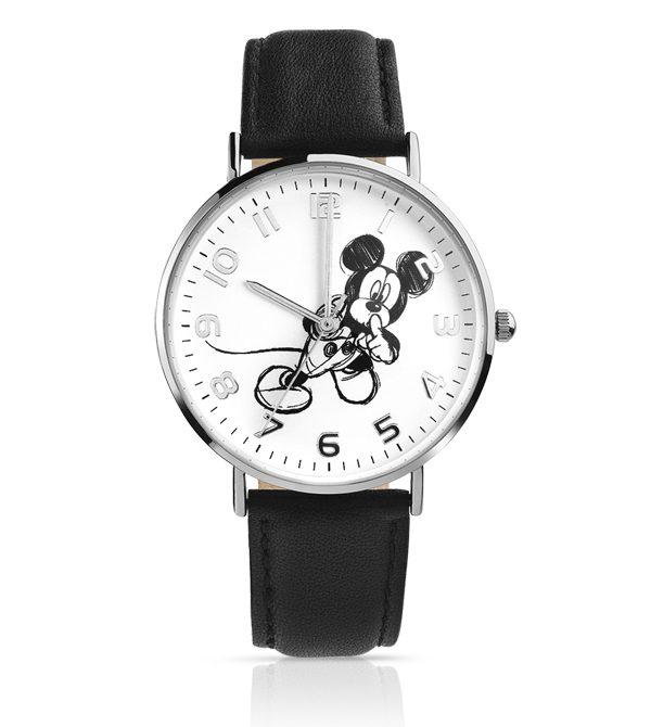 MATY - Montre Mickey bracelet cuir - 75€
