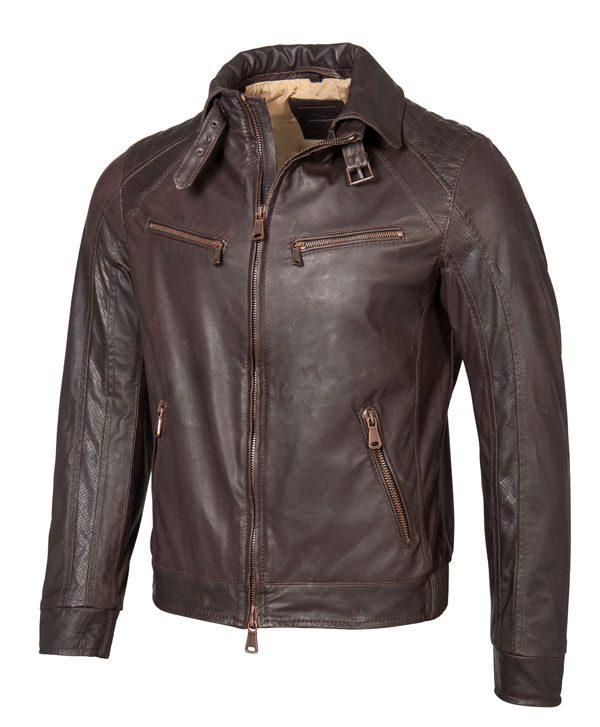 MERCEDES-BENZ - Veste cuir homme - 3 018€