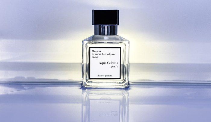 Aqua Celestia de Francis Kurkdjian se décline en eau de parfum