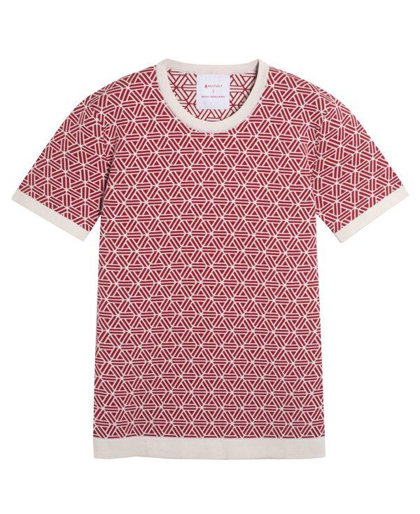 MONTAGUT X ADIEU ET À DEMAIN PAR BENJAMIN JUVENETON -T-shirt en maille - 139€