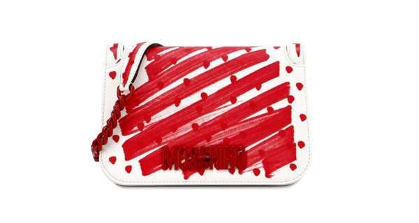 MOSCHINO chez nous.paris - Clutch Brushstroke Polka Dots - 745€