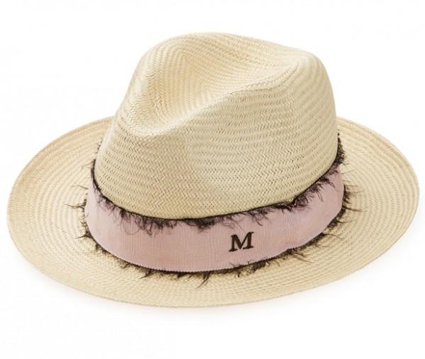 Maison Michel sur Stylebop.com - chapeau de paille Yarno - 489€