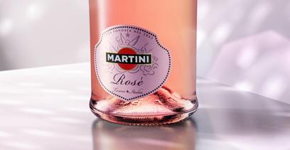 Martini Rosé bulle pour la fin d'année