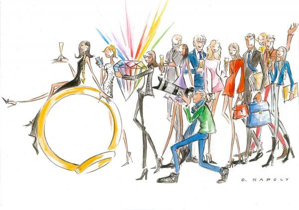 Mes créateurs joailliers - Illustration du salon
