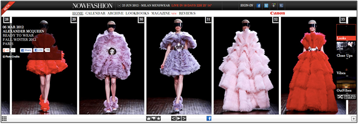 Les fashion Week du monde ... vues de votre téléphone