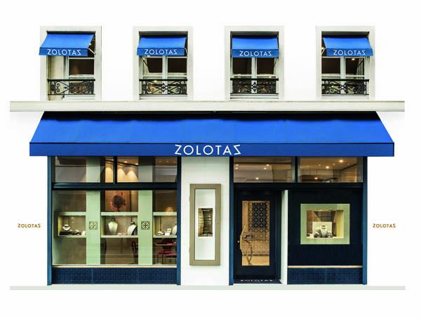 Le joaillier grec Zolotas s'installe à Paris