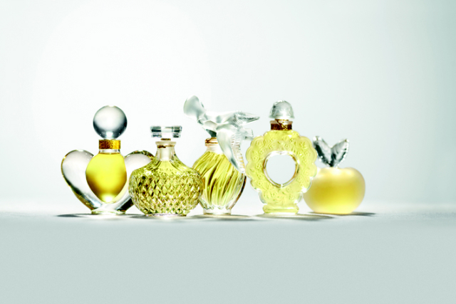Collection Cristal et fils d'or de Nina Ricci