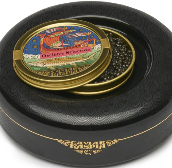 Le présentoir NO ICE de Caviar Kaspia