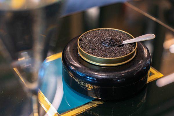 No Ice - Présentoir Caviar 5 - Caviar Kaspia