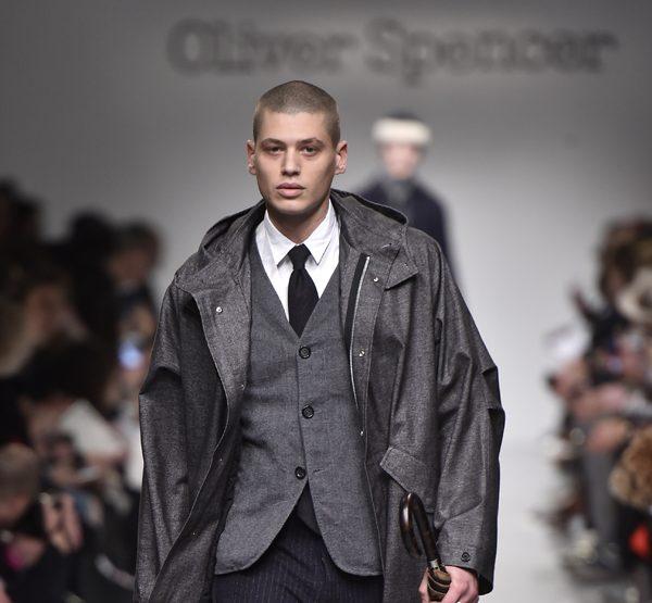 Oliver Spencer en mode Velvet cet hiver
