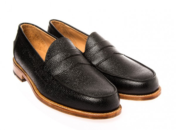 OLIVER SPENCER - Loafer en cuir 384€