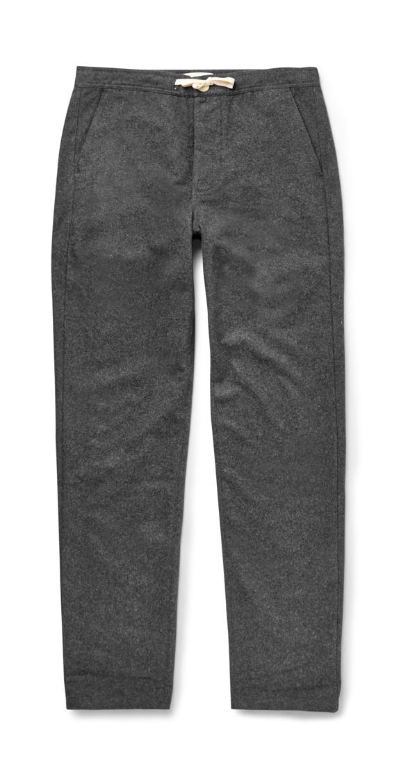 OLIVER SPENCER sur MrPorter.com - Pantalon en twill de coton 200€