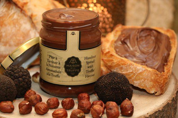 Pâte à tartiner à la noisette aromatisée à la truffe 4 - Maison de la Truffe