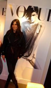 Emmanuelle Alt: qui subit, comme d'habitude, la corvée de représenter le Vogue!