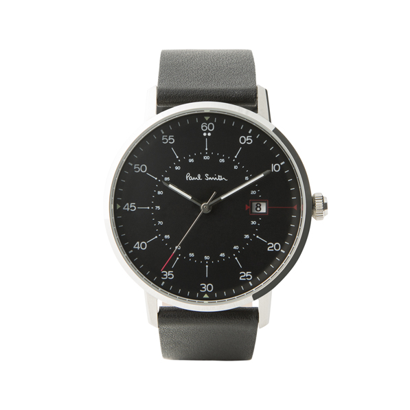 PAUL SMITH - Montre homme « Gauge » quartz avec bracelet en cuir 200€