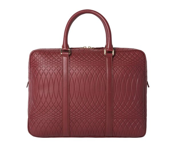 PAUL SMITH - Porte document rouge - 950€