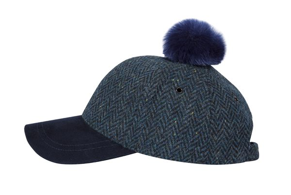PAUL SMITH - casquette marine en laine - 65€