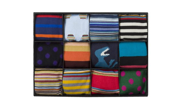 PAUL SMITH - coffret 12 paires de chaussettes - 250€