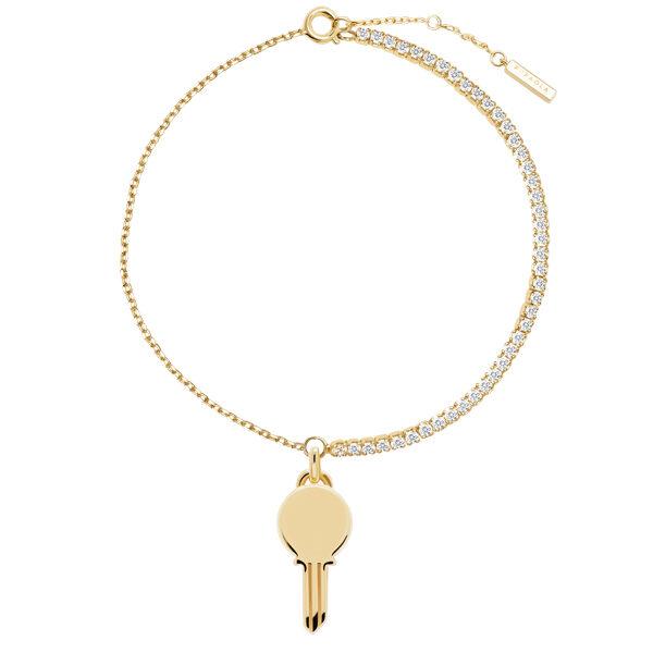 PDPaola, Bracelet Eternum plaqué or - 69€