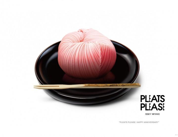 Pleats Please d'Issey Mikaye s'offre un 20me anniversaire très gourmand