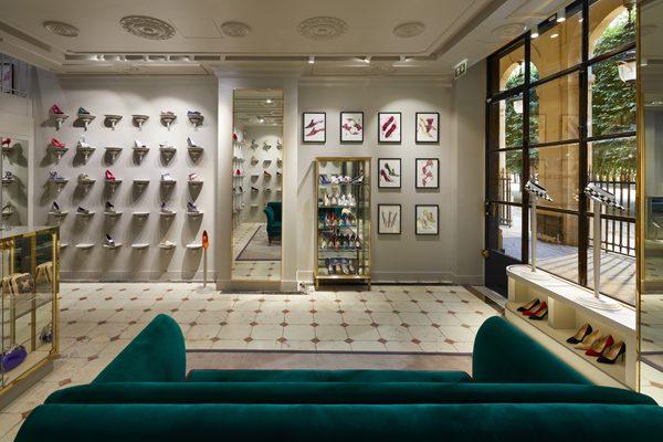 Manolo Blahnik shop @ Palais Royal, Paris, FRANCE