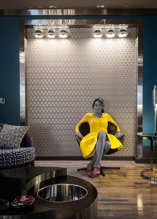 La belle Maryam Mahdavi et son univers onirique
