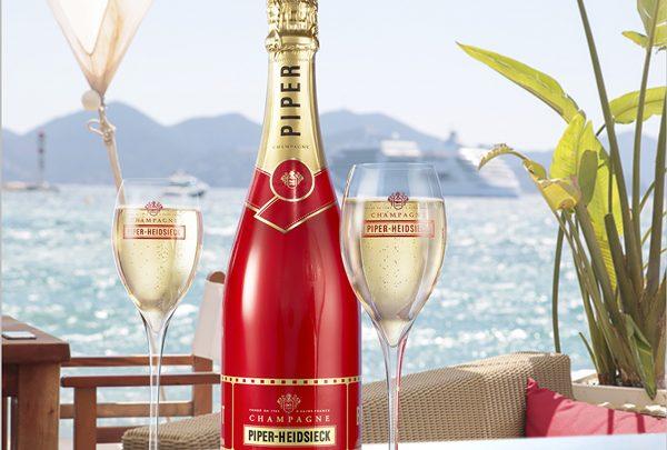 Piper-Heidsieck, fournisseur officiel du 70ème Festival de Cannes