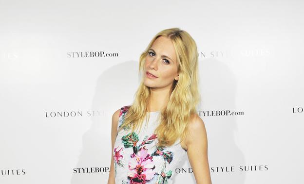 Poppy Delevingne enflamme le Château Marmont pour Stylebop.com