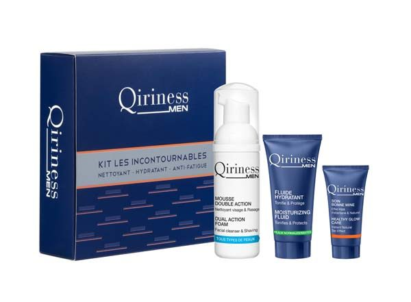 QIRINESS MEN - Kit Les Incontournables -11.90€