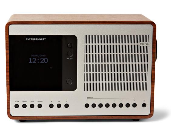 REVO sur MRPORTER.COM - Radio en bois et aluminium Superco,nnect - 390€
