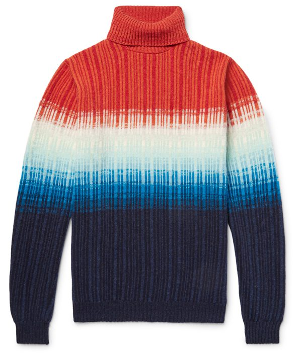 RICHARD JAMES sur MRPORTER - Pull - 775€