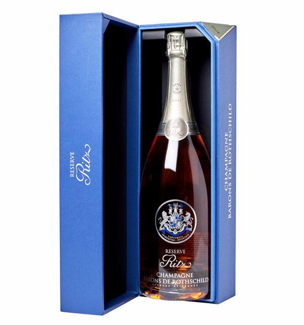 RITZ PARIS - Champagne Ritz Réserve Brut Barons de Rothschild - 62€