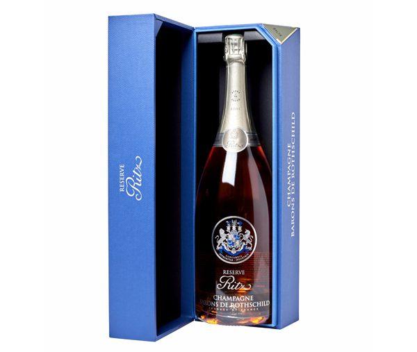 RITZ PARIS - Champagne roé Barons de Rotschild 75cl - 62€