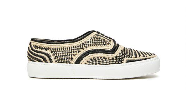 ROBERT CLERGERIE HOMME - Sneakers « Teba » en raffia – 320€