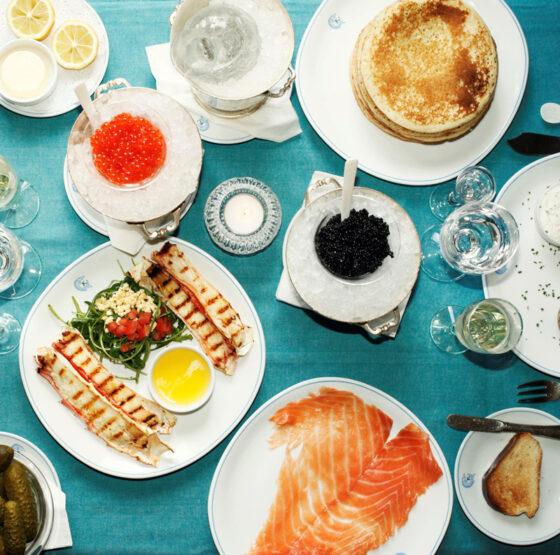 FOOD : et Caviar Kaspia créa Lunner