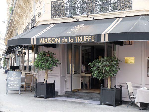 Restaurant La Truffe Marbeuf - La Maison de la Truffe