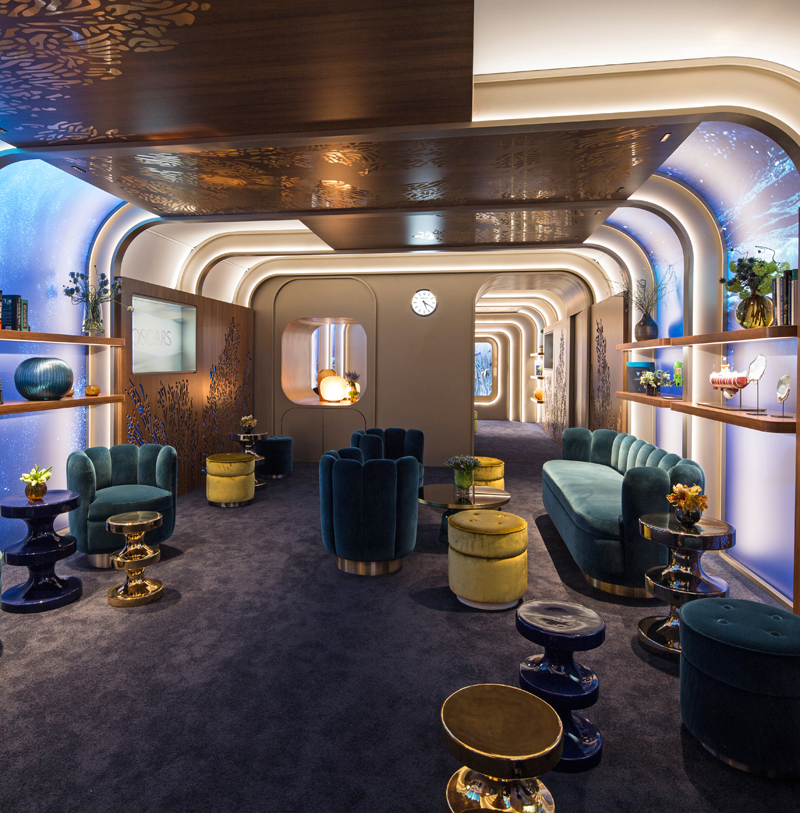 The 2019 Greenroom, hosted and designed by Rolex.