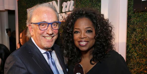 Roberto Coin a créé le prix attribué à Oprah Winfrey