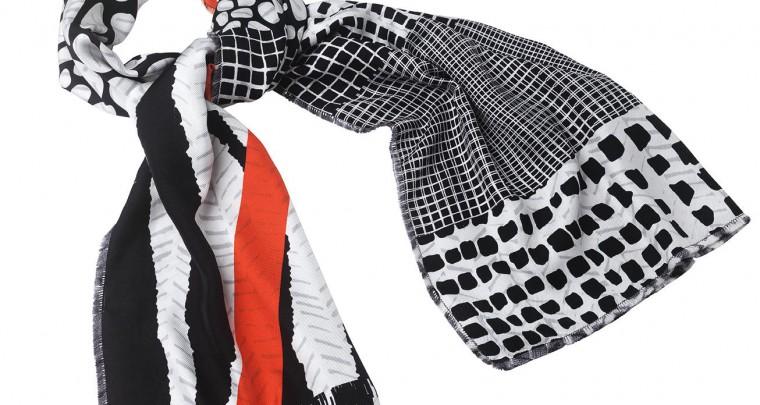 Roland Mouret crée Bing Bang Boom, une écharpe exclusive