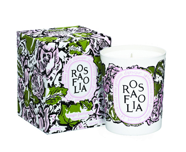 Rosafolia candle with pack2