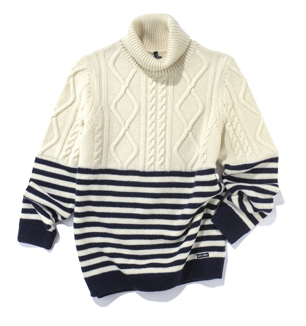 SAINT-JAMES - Pull Amos en laine - 159€