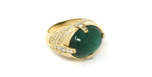 SARAH JANE WILDE - Emerald cocktail ring - 19 900€