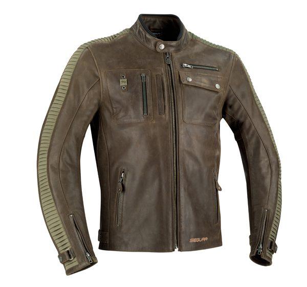 SEGURA - Blouson moto en cuir JAYZER - 449,90€