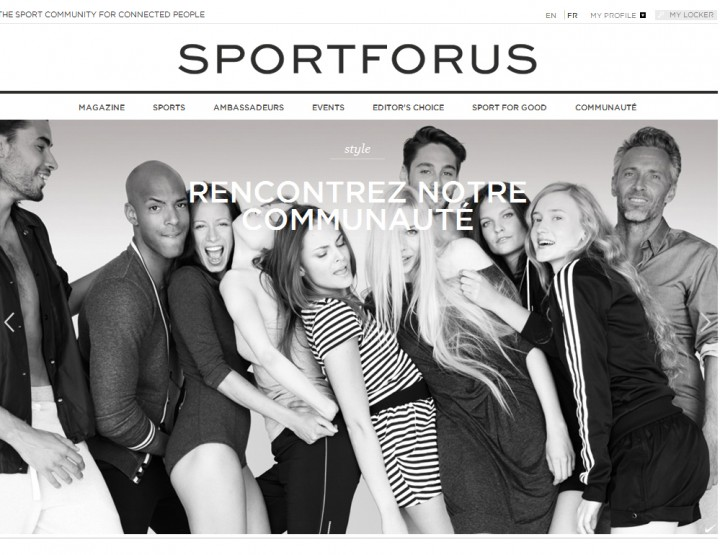 Sport For Us - le Facebook du style et du sport