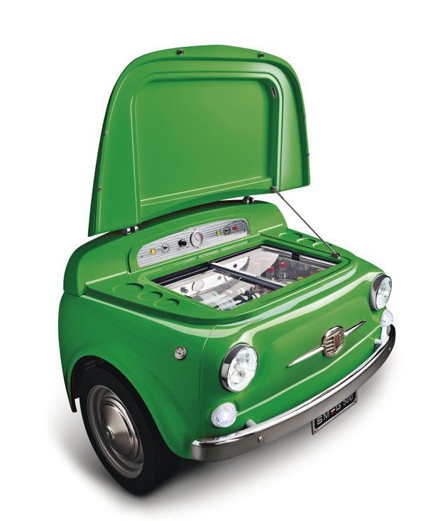 SMEG & FIAT - Refrigérateur Smeg 500 - 6 600€