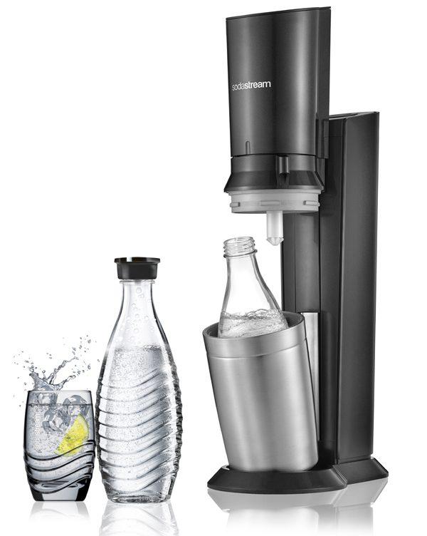 SODASTREAM - Crystal avec bouteille en verre - 130€