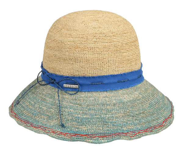 STETSON - Chapeau en paille crochet - 79€