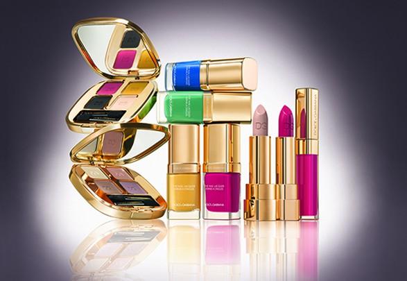 Dolce & Gabbana présente leur maquillage de printemps