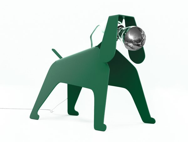 THOMAS DE LUSSAC - Lampe Moondog - 119€