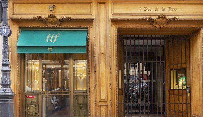 TTF, la première boutique d'un grand Joaillier Chinois à Paris